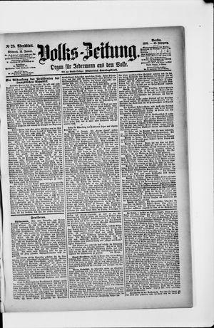 Volks-Zeitung vom 16.01.1895
