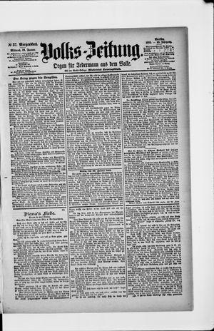 Volks-Zeitung on Jan 23, 1895