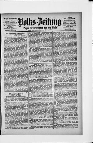 Volks-Zeitung vom 01.02.1895