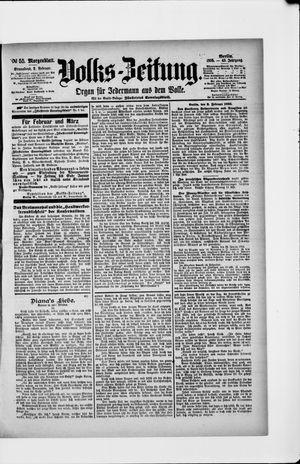 Volks-Zeitung vom 02.02.1895