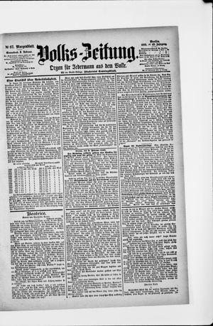 Volks-Zeitung vom 09.02.1895