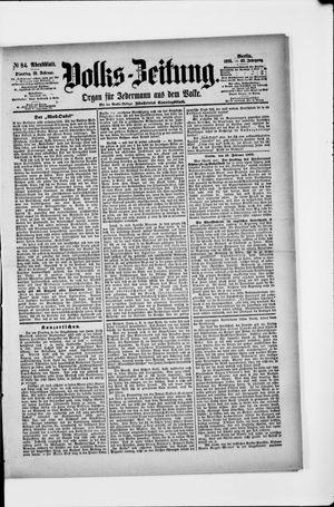 Volks-Zeitung vom 19.02.1895