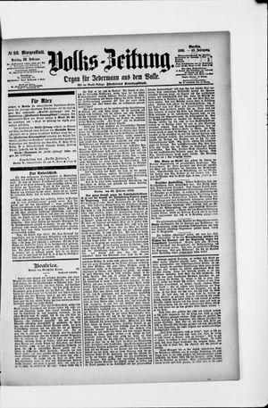 Volks-Zeitung vom 22.02.1895