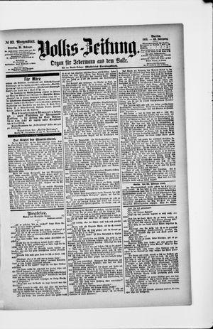 Volks-Zeitung on Feb 24, 1895