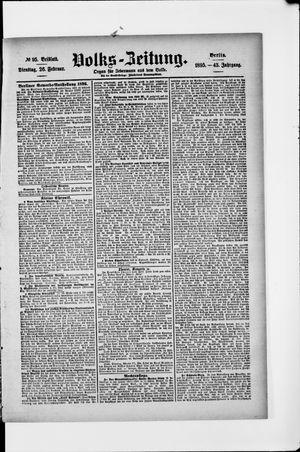 Volks-Zeitung vom 26.02.1895