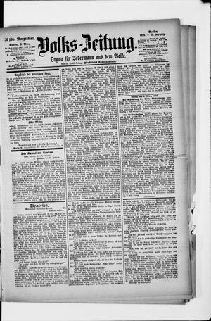 Volks-Zeitung vom 03.03.1895