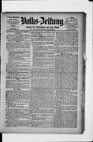 Volks-Zeitung vom 04.03.1895