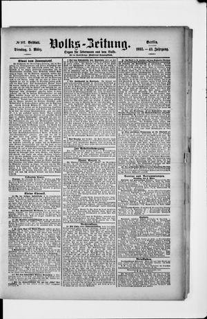 Volks-Zeitung vom 05.03.1895