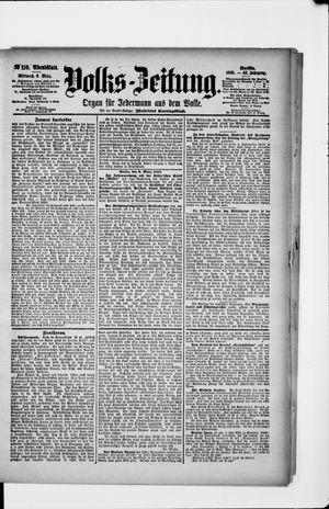 Volks-Zeitung vom 06.03.1895