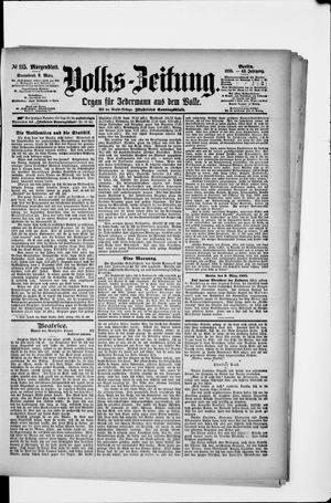 Volks-Zeitung vom 09.03.1895
