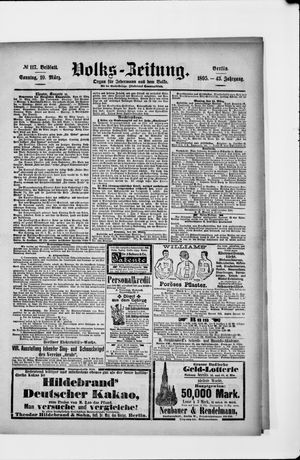 Volks-Zeitung vom 10.03.1895