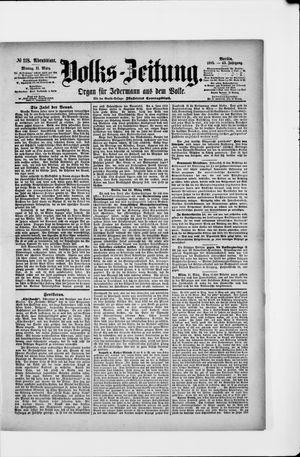 Volks-Zeitung on Mar 11, 1895