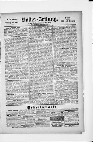Volks-Zeitung vom 12.03.1895