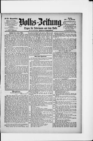 Volks-Zeitung vom 13.03.1895