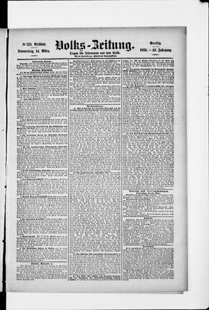 Volks-Zeitung vom 14.03.1895