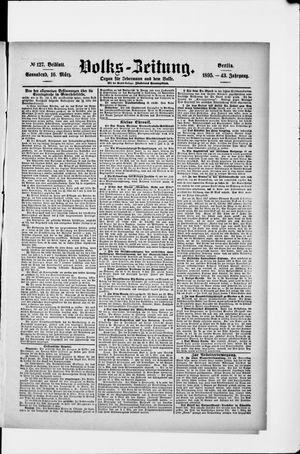 Volks-Zeitung vom 16.03.1895