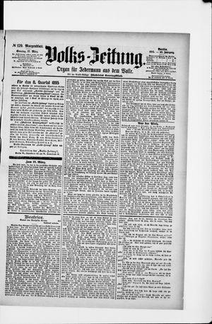 Volks-Zeitung on Mar 17, 1895