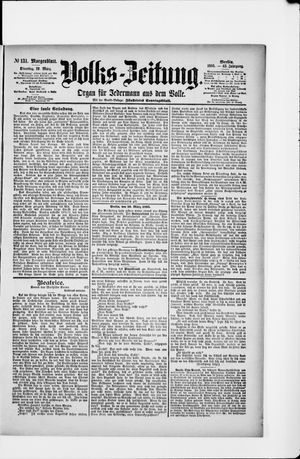 Volks-Zeitung on Mar 19, 1895