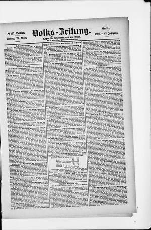 Volks-Zeitung on Mar 22, 1895