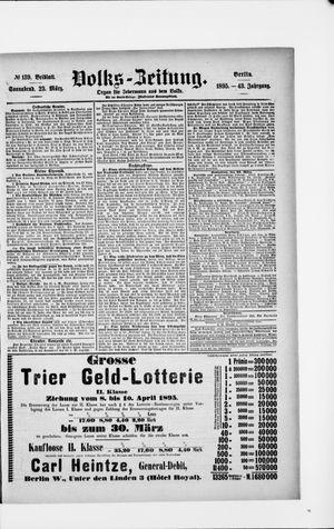 Volks-Zeitung vom 23.03.1895