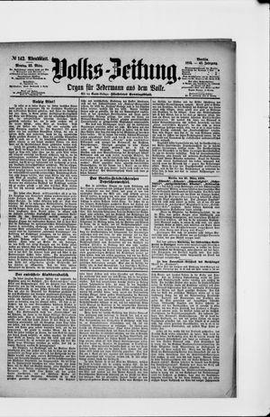 Volks-Zeitung vom 25.03.1895