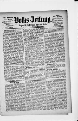 Volks-Zeitung vom 26.03.1895