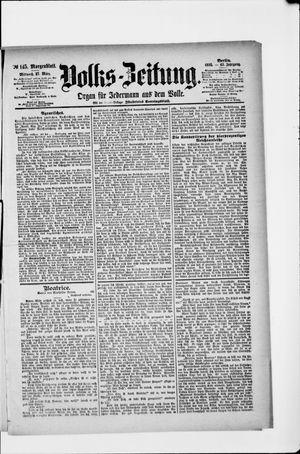 Volks-Zeitung vom 27.03.1895