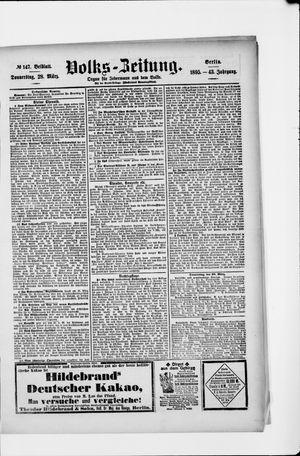 Volks-Zeitung vom 28.03.1895