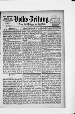 Volks-Zeitung vom 31.03.1895