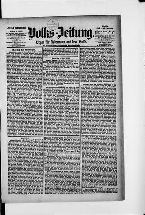 Volks-Zeitung vom 01.04.1895