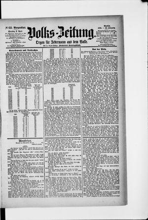 Volks-Zeitung vom 02.04.1895