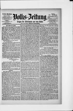 Volks-Zeitung vom 05.04.1895