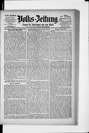 Volks-Zeitung vom 09.04.1895