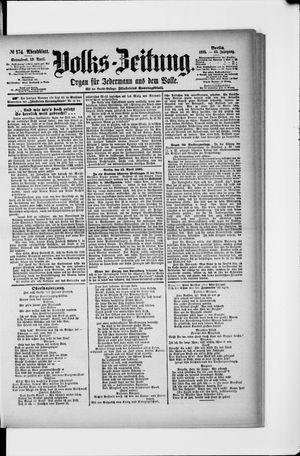 Volks-Zeitung vom 13.04.1895