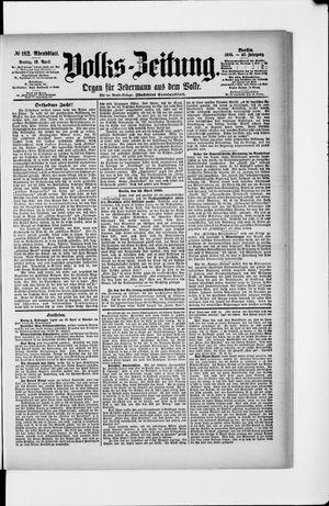 Volks-Zeitung vom 19.04.1895