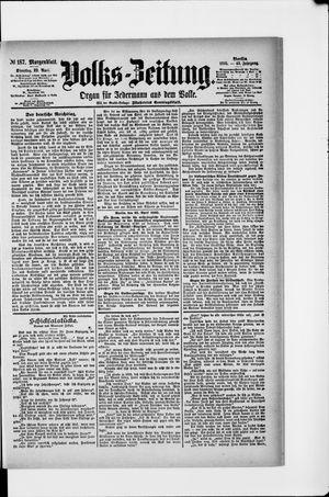 Volks-Zeitung vom 23.04.1895