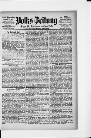 Volks-Zeitung vom 25.04.1895
