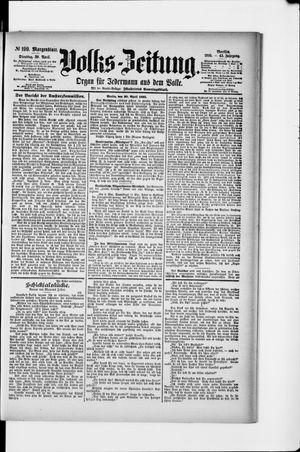 Volks-Zeitung vom 30.04.1895