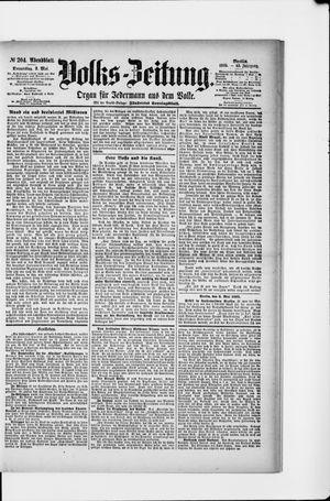 Volks-Zeitung vom 02.05.1895