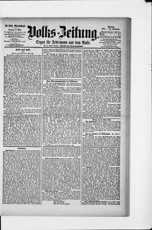 Volks-Zeitung vom 03.05.1895