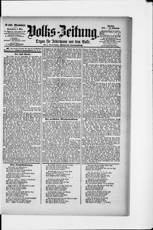 Volks-Zeitung vom 04.05.1895