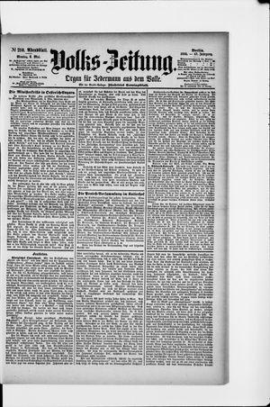 Volks-Zeitung vom 06.05.1895