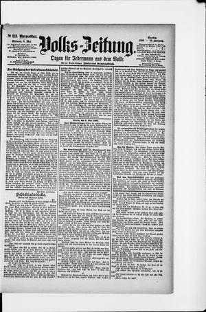Volks-Zeitung vom 08.05.1895