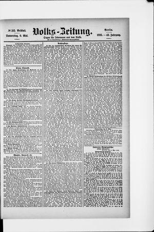Volks-Zeitung vom 09.05.1895