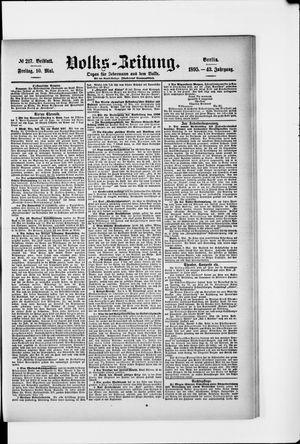 Volks-Zeitung on May 10, 1895