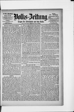 Volks-Zeitung vom 13.05.1895