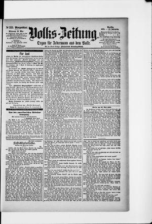 Volks-Zeitung vom 15.05.1895