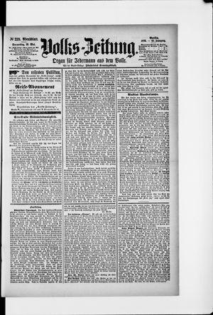 Volks-Zeitung vom 16.05.1895