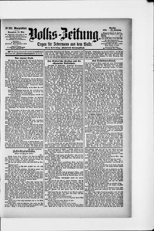 Volks-Zeitung vom 18.05.1895