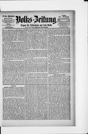 Volks-Zeitung vom 20.05.1895